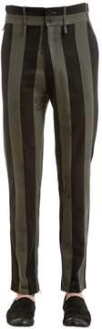 Damir Doma 15cm Striped Cotton Blend Pants