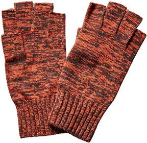 Portolano Men's Fingerless Wool-Blend Gloves