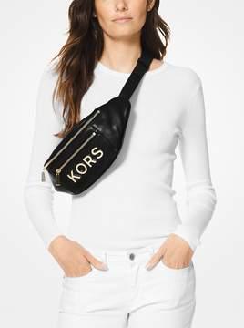 MICHAEL Michael Kors Medium Embellished Leather Belt Bag