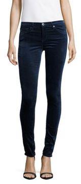 AG Adriano Goldschmied The Legging Velvet Skinny Jeans