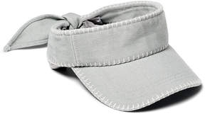 Lucky Brand BLANKET STITCHED VISOR