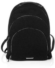KENDALL + KYLIE Sloane Shearling Backpack