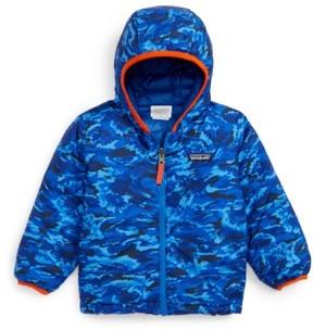 Patagonia Toddler Boy's Reversible Down Sweater Hoodie