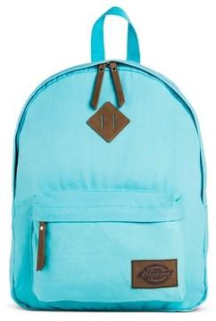 Dickies Women's Canvas Backpack Handbag with Zip Closure - Blue