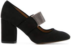 Castaner square toe court shoes