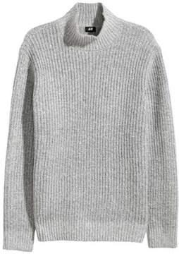 H&M Knit Mock Turtleneck Sweater