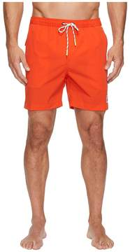 Psycho Bunny Solid Swim Trunks Men's Swimwear