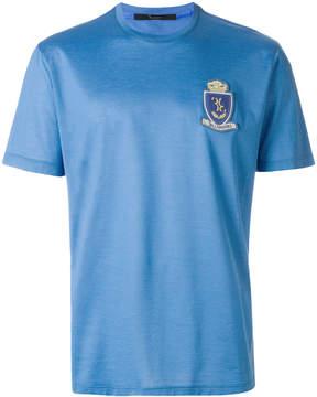 Billionaire crest front T-shirt