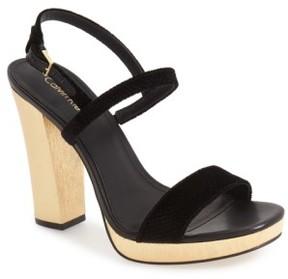 Women's Calvin Klein 'Bambii' Platform Sandal