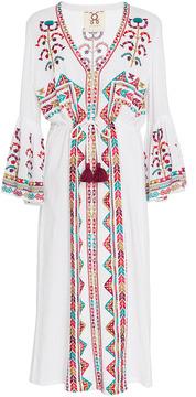 Figue Minette Embroidered Midi Dress