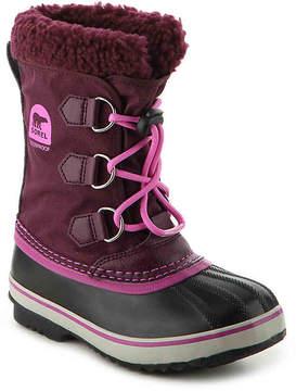 Sorel Girls Yoot Pac Youth Snow Boot