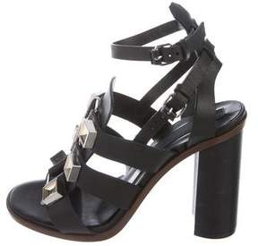 Proenza Schouler Leather Cage Sandals w/ Tags