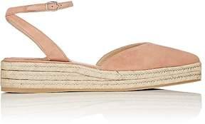 Paul Andrew Women's Rhea Suede Ankle-Strap Espadrilles