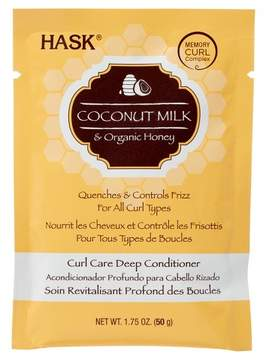 Hask Coconut Milk & Honey Curl Care Deep Conditioner - 1.75oz