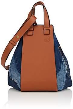 Loewe Women's Hammock Medium Denim & Leather Bag