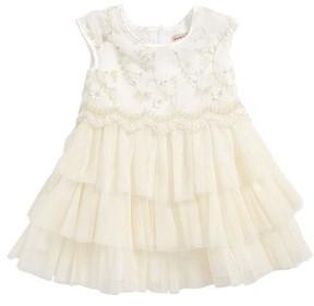 Nanette Lepore Infant Girl's Embroidered Tulle Dress