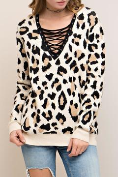 Entro Leopard Print Sweater