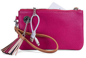 Nautica Power Sailing Wristlet with Battery Charger - Sunrise Pink