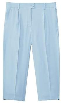 Violeta BY MANGO Pleated culottes trousers