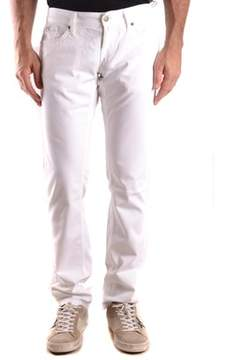 Richmond Men's White Cotton Jeans.