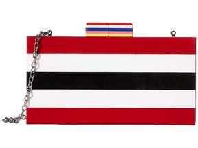 Sam Edelman Striped Box Clutch Wallet