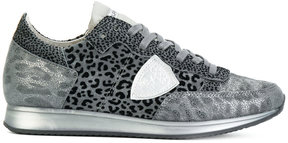 Philippe Model leopard print trainers