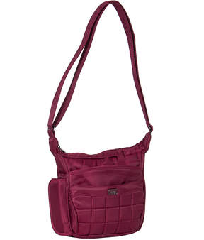 Cranberry Red Flutter Mini Crossbody Bag