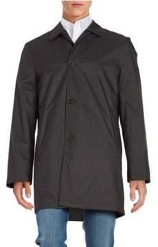 Hart Schaffner Marx Reversible Rain-Repellent All-Weather Coat