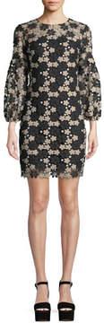 Shoshanna Vina Floral Lace Mini Dress