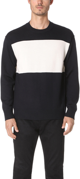 TOMORROWLAND Two Tone Sweater