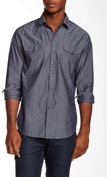 James Campbell Savoy Long Sleeve Regular Fit Shirt