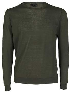 Roberto Collina Men's Green Cotton Sweatshirt.