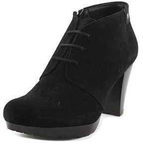 Giani Bernini Womens Odele Almond Toe Ankle Fashion Boots, Black, Size 11.0.