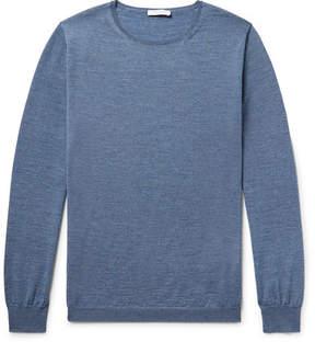 Boglioli Mélange Wool Sweater