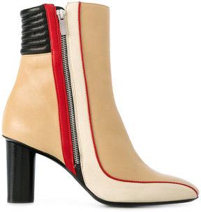 Barbara Bui zip heeled ankle boots