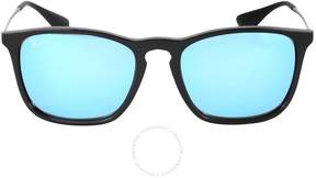 Ray-Ban CHRIS Blue Mirror Sunglasses RB4187 601/55