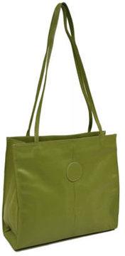 Women's Piel Leather Medium Market Bag 2344