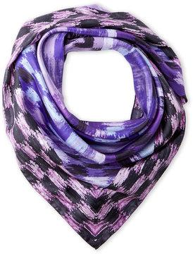 Missoni Lilac & Purple Printed Silk Scarf