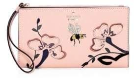 Kate Spade Eliza Garden Embellished Leather Wallet