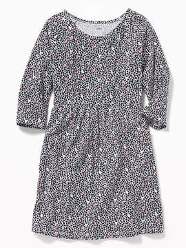 Old Navy Fit & Flare Jersey Dress for Girls