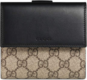 Gucci GG Supreme french flap wallet - GG SUPREME - STYLE