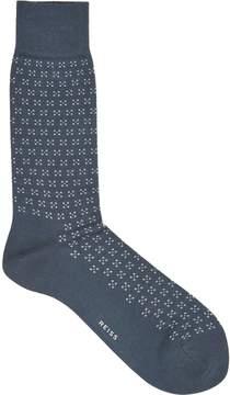 Reiss Alom Floral Patterned Socks