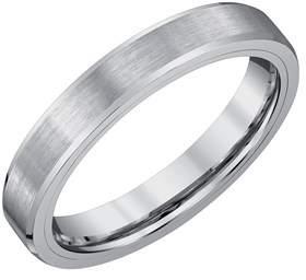 Armani Exchange Jewelry Mens 4mm Tungsten Wedding Band.