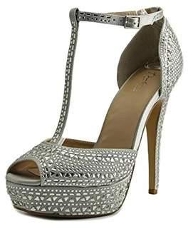 Thalia Sodi Womens Flor Peep Toe T-strap Classic Pumps.