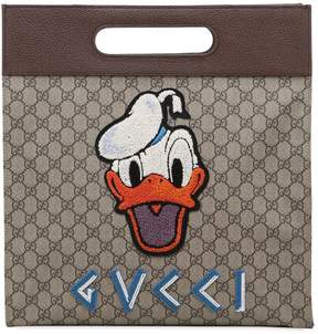 Gucci Donald Duck Gg Supreme Medium Tote Bag