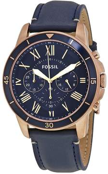 Fossil Grant Sport Blue Dial Men's Chronograph Watch