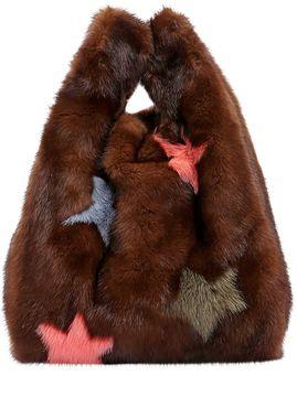 Furrissima Star Mink Fur Bag