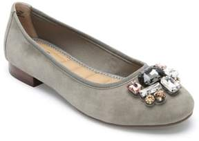 Me Too Sapphire Crystal Embellished Flat