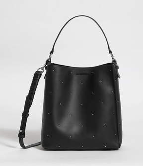 AllSaints Kathi Small North South Leather Tote Bag
