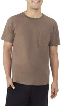Fruit of the Loom Men's Platinum Eversoft Short Sleeve Pocket T Shirt, up to Size 4XL
